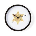 Tulare County Sheriff Wall Clock