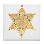 Tulare County Sheriff Tile Coaster