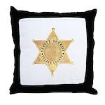 Tulare County Sheriff Throw Pillow