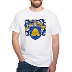 Sanders Family Crest White T-Shirt