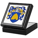Sanders Family Crest Keepsake Box