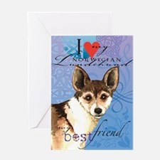 Norwegian Lundehund Greeting Card