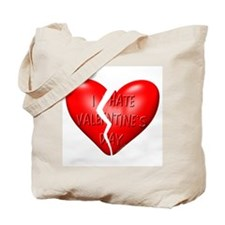 I Hate Valentine's Day Tote Bag