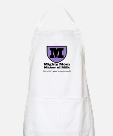 Mighty Mom BBQ Apron