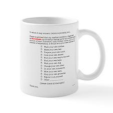 To Whom It May Concern... Mug