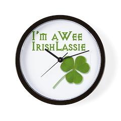 Wee Irish Wall Clock