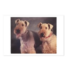 Cute Airedales Postcards (Package of 8)