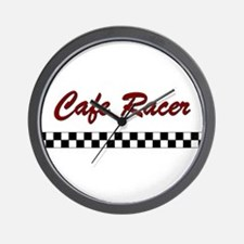 Cafe Racer Wall Clock