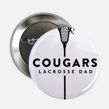 """Cougars Dad 2.25"""" Button (10 pack)"""
