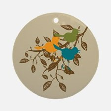 Birds of Play Ornament (Round)