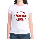 American Hero Jr. Ringer T-Shirt