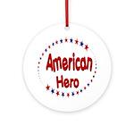 American Hero Ornament (Round)