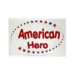 American Hero Rectangle Magnet