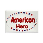 American Hero Rectangle Magnet (10 pack)