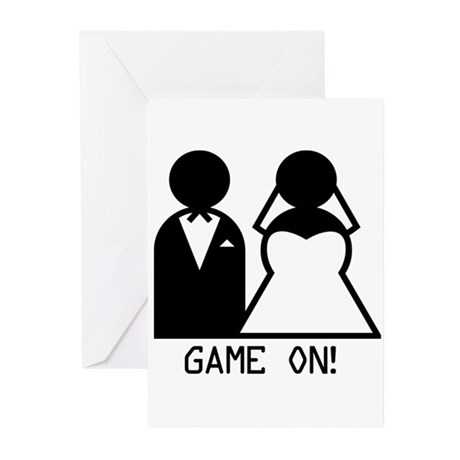 Game On Greeting Cards (Pk of 10)