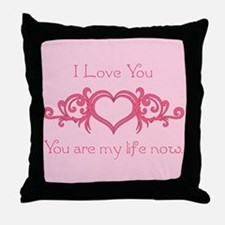 Twilight Valentine My Life Throw Pillow