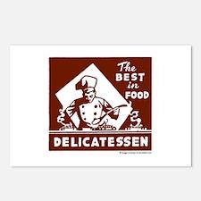 Best In Food Delicatessen Postcards (Package of 8)