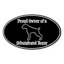 Schutzhund Boxer Decal