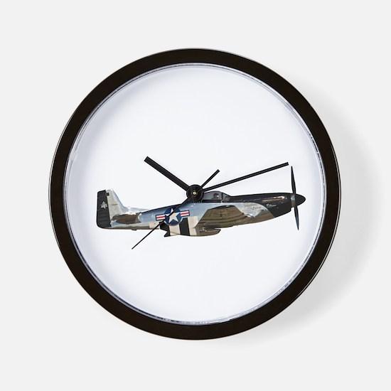 P-51 Mustang Wall Clock