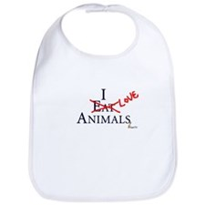 Unique Vegan baby Bib