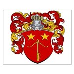 Schut Family Crest Small Poster