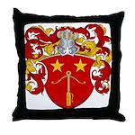 Schut Family Crest Throw Pillow