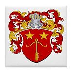 Schut Family Crest Tile Coaster