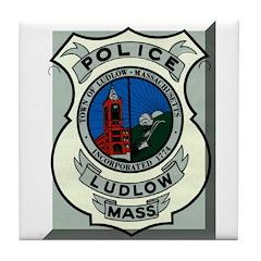 Ludlow Police Tile Coaster