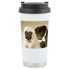 The Snug Pug Travel Coffee Mug