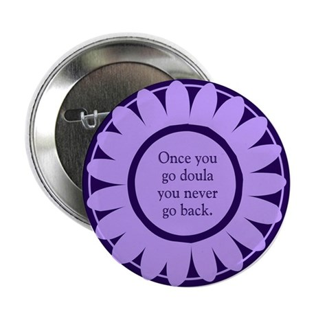 "Doula Flower - 2.25"" Button (10 pack)"