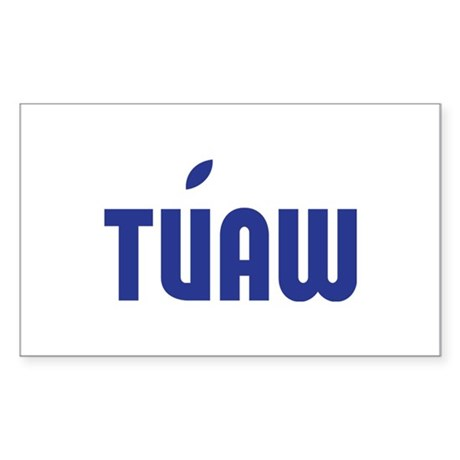 TUAW Rectangle Sticker 10 pk)