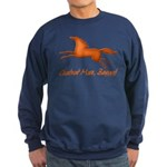 Chestnut Mare, Beware! Sweatshirt (dark)