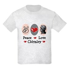 Peace Love Chivalry Renaissance T-Shirt