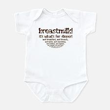What's for Dinner Infant Bodysuit