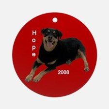 Personalized Round Ornament- Hope