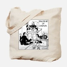 Zen & the Art of Litigation Tote Bag