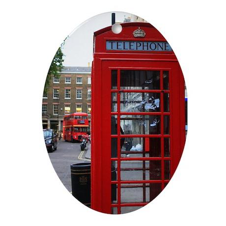 London Oval Ornament