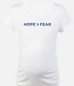 hope > fear barack obama 2008 Shirt