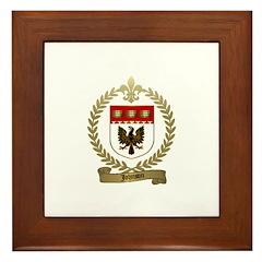 JOHNSON Family Crest Framed Tile