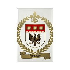 JOHNSON Family Crest Rectangle Magnet