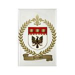 JOHNSON Family Crest Rectangle Magnet (100 pack)