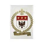 JOHNSON Family Crest Rectangle Magnet (10 pack)