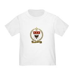 JOHNSON Family Crest Toddler T-Shirt