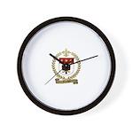 JOHNSON Family Crest Wall Clock