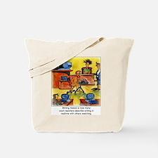 Writing Naked Tote Bag