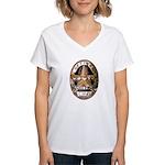 Irving Police Women's V-Neck T-Shirt