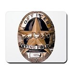 Irving Police Mousepad