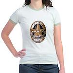 Irving Police Jr. Ringer T-Shirt