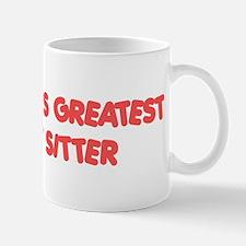 World's Greatest Cat Sitter Mug