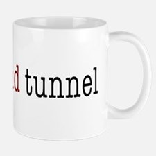 bridge and tunnel Mug